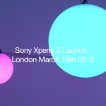 Sony Xperia Z Launch