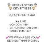Kieran Loftus + City Fitness Have An Announcement Wednesday
